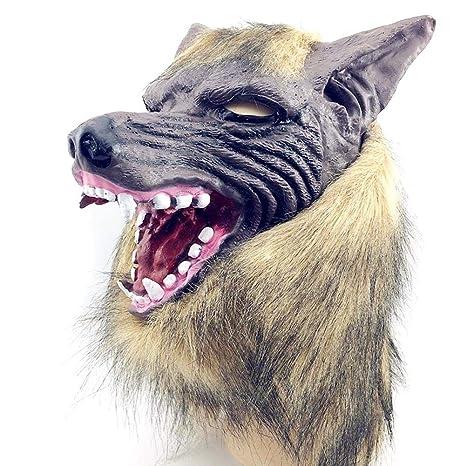 Lobo Malo con Guantes De Garra Máscara Máscara De Halloween ...