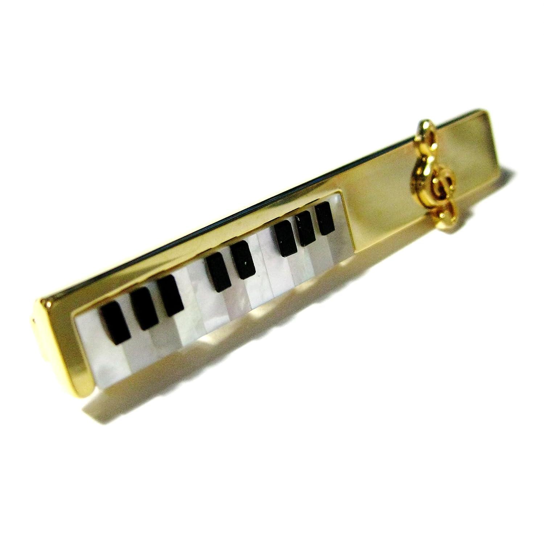 Oro de madreperla y Ónix diapositivas de teclado de Piano la ...
