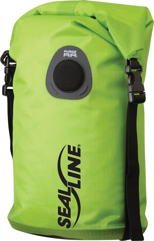 SealLine Bulkhead Compression Dry Bag, Green, 5-Liter