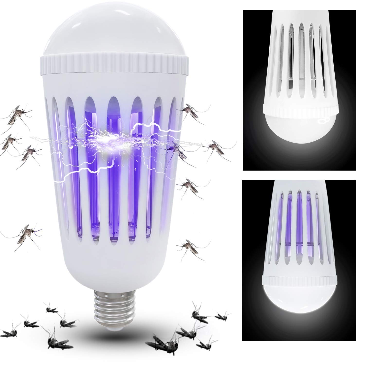 Bug Zapper Bulbs >> Amazon Com Athemo Bug Zapper Light Bulbs Mosquito Killer Lamp Uv