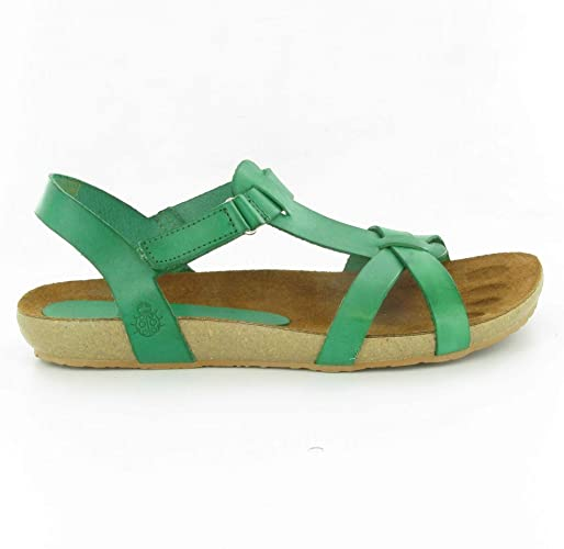 Yokono - 722 Flat Sandals in Green, 8