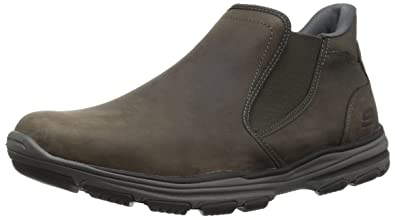 skechers pull on boots