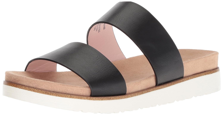 kensie Women's Dominic Slide Sandal B07821CZ43 7 M US|Black