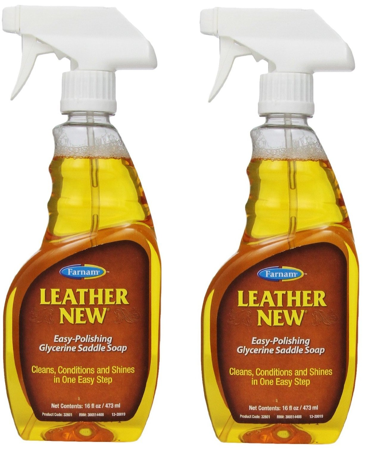 FARNAM 32601 Leather New Saddle Soap, 16-Ounce (2 Pack)