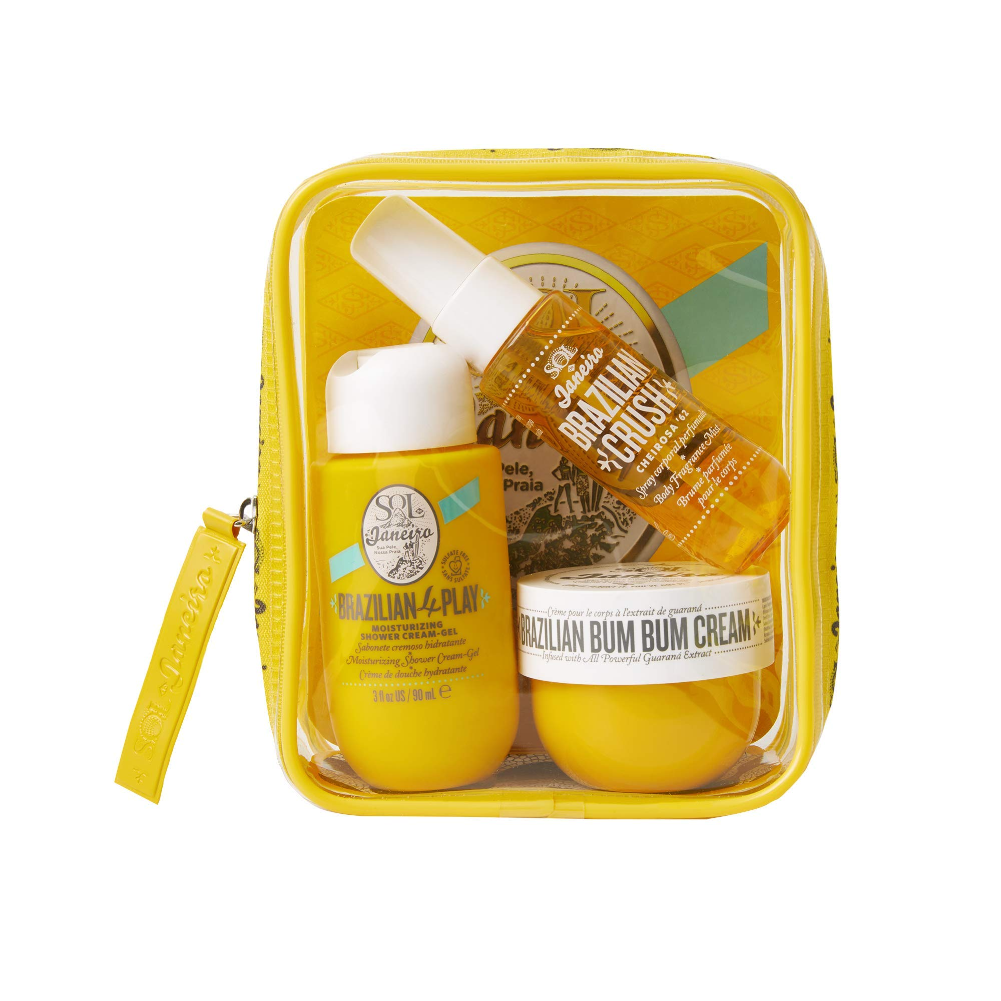 SOL DE JANEIRO Bum Bum Jet Set Body Care Travel Kit
