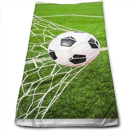 huibe Balón de fútbol Golpear Goa Toalla Absorbente de poliéster ...