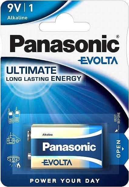 Panasonic Evolta 9 Volt Alkalibatterie Lr61 1er Pack Elektronik