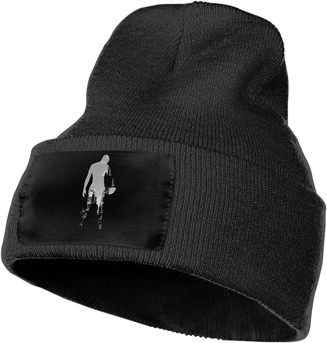 JimHappy Streetball Nation Hat for Men and Women Winter Warm Hats Knit Slouchy Thick Skull Cap