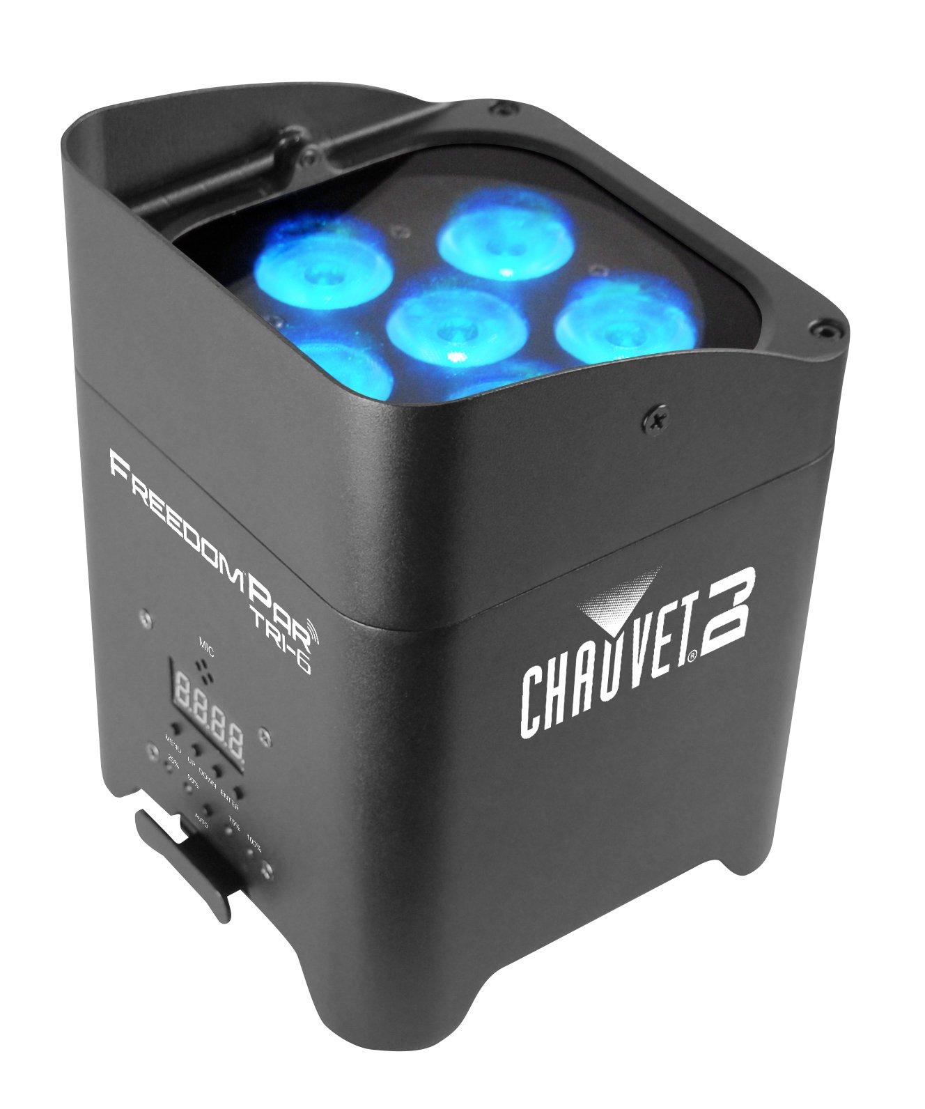CHAUVET DJ Freedom Par Tri-6 Battery-Operated RGB LED Wash Light   LED Lighting