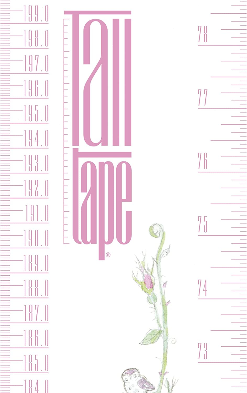 10 Designs TALLTAPE A Memento for Life Roll-up Height Chart Plus 1 Sharpie Marker Pen to Measure Children from Birth Choice of 10 Designs. Talltape, London Portable