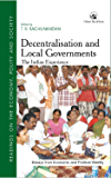 Decentralisation and Local Governments