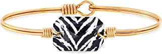 product image for Luca + Danni   Dylan Bangle Bracelet in Zebra For Women Made in USA