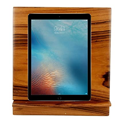 MOJO PANDA Mojopanda Teak Wood Office Desk |Desktop| Wooden I Pad Station  |Docker