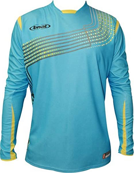 b4b6c0951e4 Image Unavailable. Image not available for. Color: Rinat Kaos Goalkeeper  Jersey - Turquoise - Adult XL