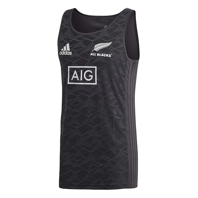 888743407ebaa Amazon.com: adidas All Blacks Singlet, X-Large: Clothing
