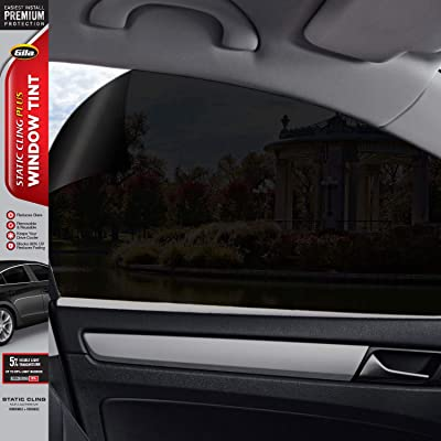 "GILA 50146369 5% Static Cling Plus Limo Black 24""x6.5' Window Tint: Automotive [5Bkhe0407458]"