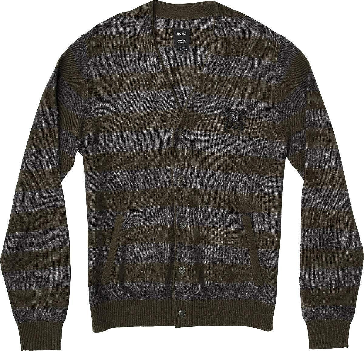 RVCA Men's Cali Cardigan Sweater, MV40SRCC