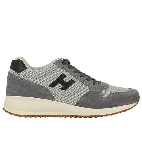 Hogan Scarpe Uomo Interactive N20 Sneaker H 3D HXM2460K710I9M0PCS Grigio  (39.5 EU - 5.5 UK a4bde1085bb