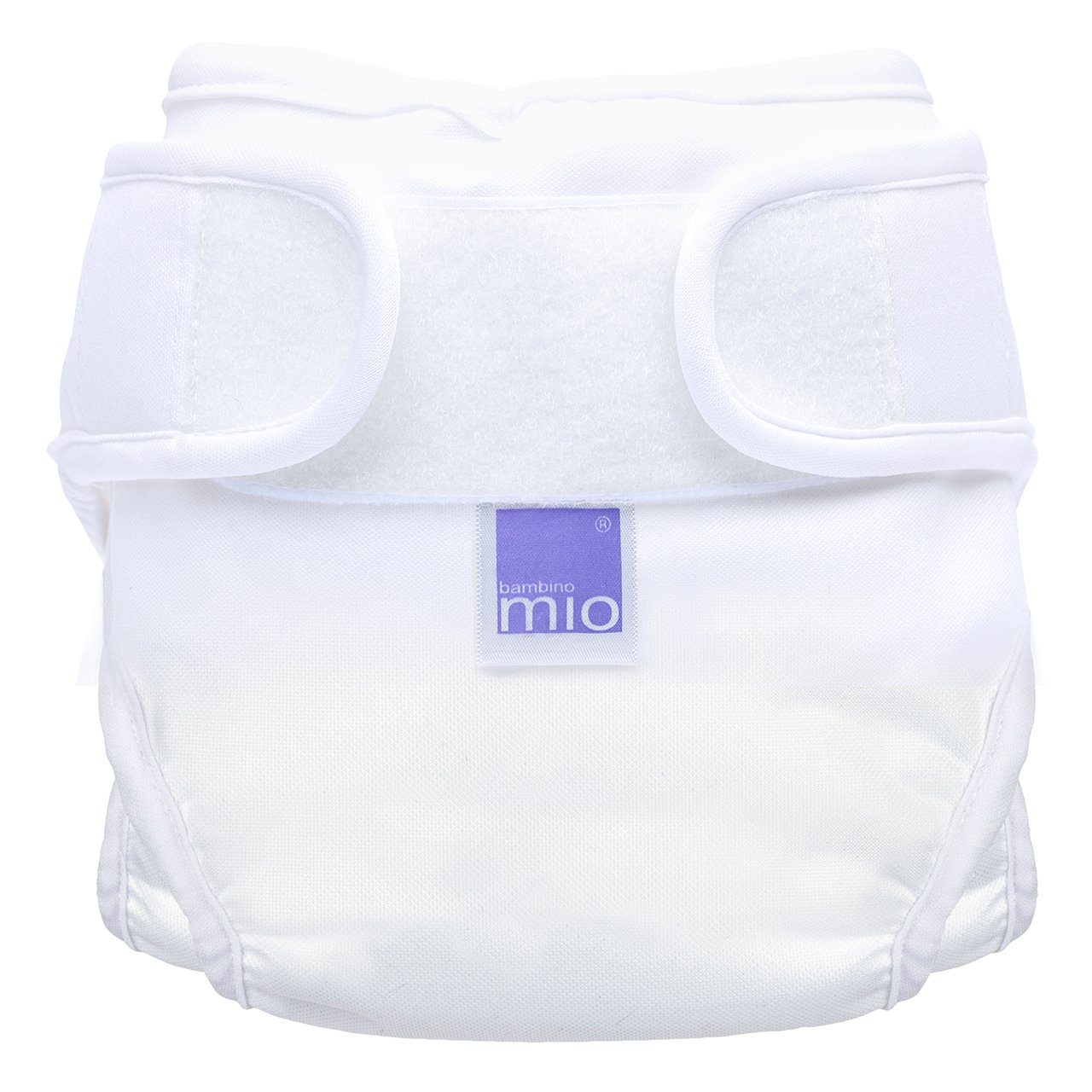 Bambino Mio, Miosoft Nappy Cover, White, Size 2 (2pack) 2MS2A