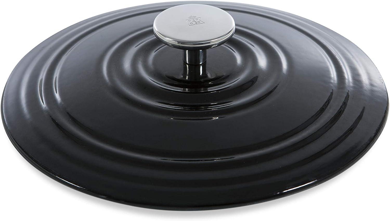 BK H6071.528 Bourgogne Cast Iron Pan Black 7QT