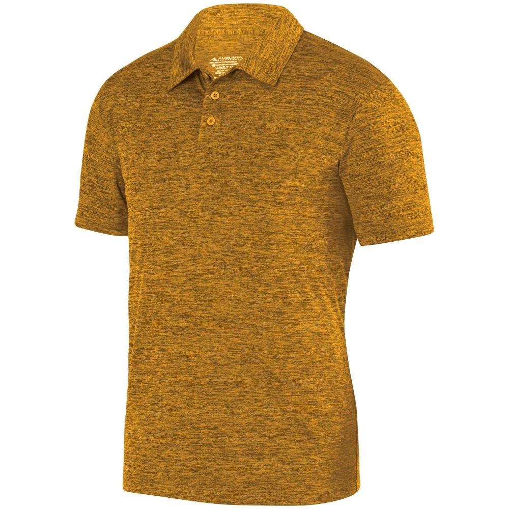 Pack of 3 Augusta Sports Mens Intensity Black Heather Sport Shirt