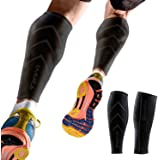 Calf Compression Sleeve by Emerge - For Men & Women - Leg & Shin Splint Compression Sleeves for Runners, Shin Splints & Blood Circulation
