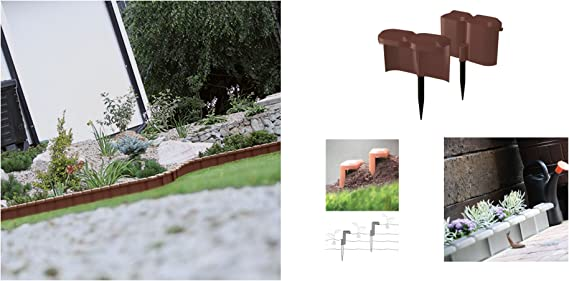 Prosperplast - Cercado para cercado (1,9 m), color marrón: Amazon ...