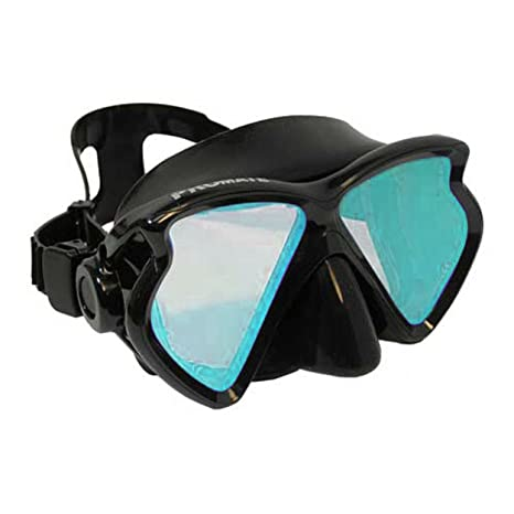 8bf94854741 Promate Scuba Dive Diving Mask Snorkeling Color Correction Mask with Tinted  Lenses Snorkel
