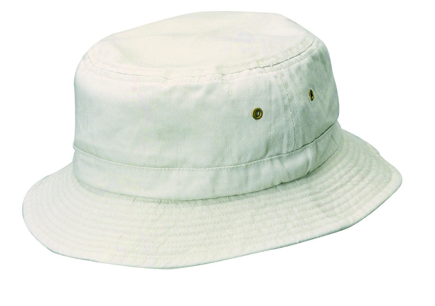 Dorfman Pacific Kids Cotton Classic Summer Outdoor Bucket Hat, Small/Medium