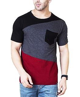 e7e7cb82 Veirdo Men's Cotton T-Shirt (Tsh_08): Amazon.in: Clothing & Accessories