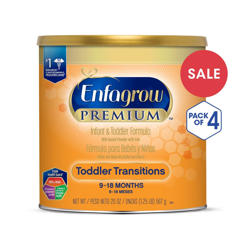 Amazoncom Enfagrow Premium Non Gmo Toddler Transitions Formula
