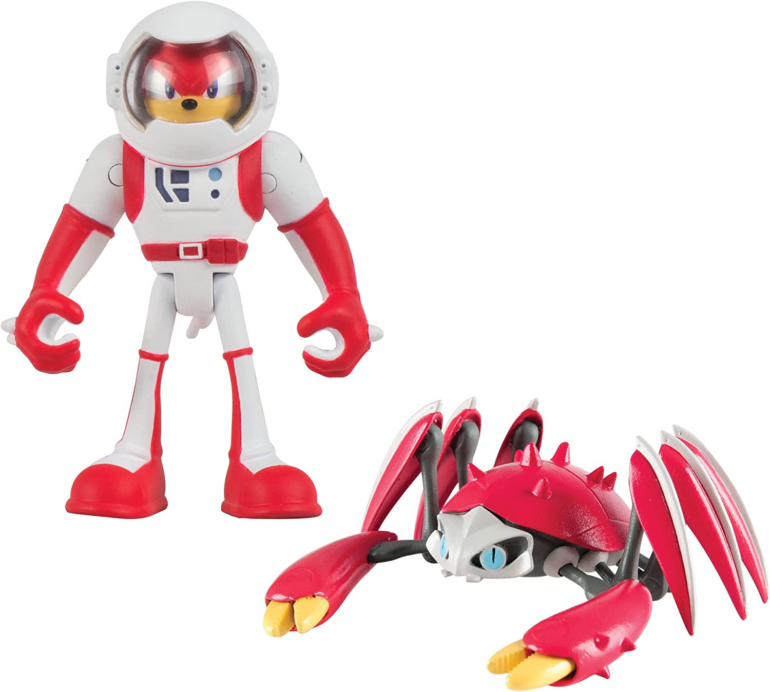 Knuckles Crabmeat 3 Inch 2 Figure Pack Sonic Boom