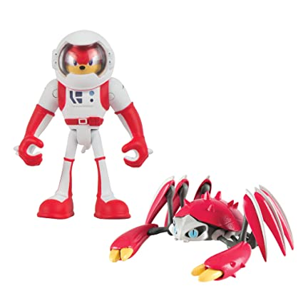 Amazon TOMY Sonic Boom 2 Figure Pack Spacesuit Knuckles