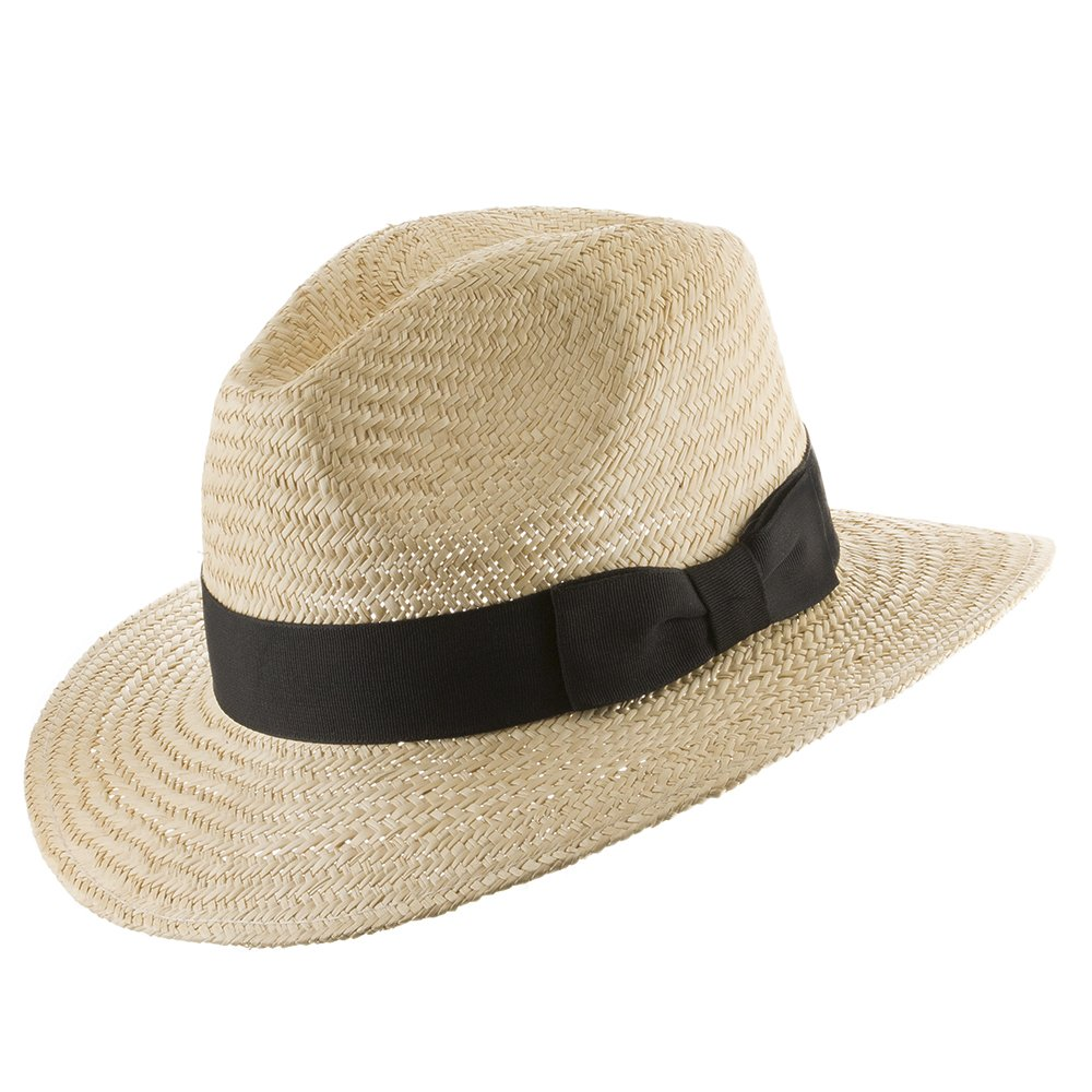 Ultrafino Casual Safari Jack Panama Outdoors Natural Straw Hat 111004