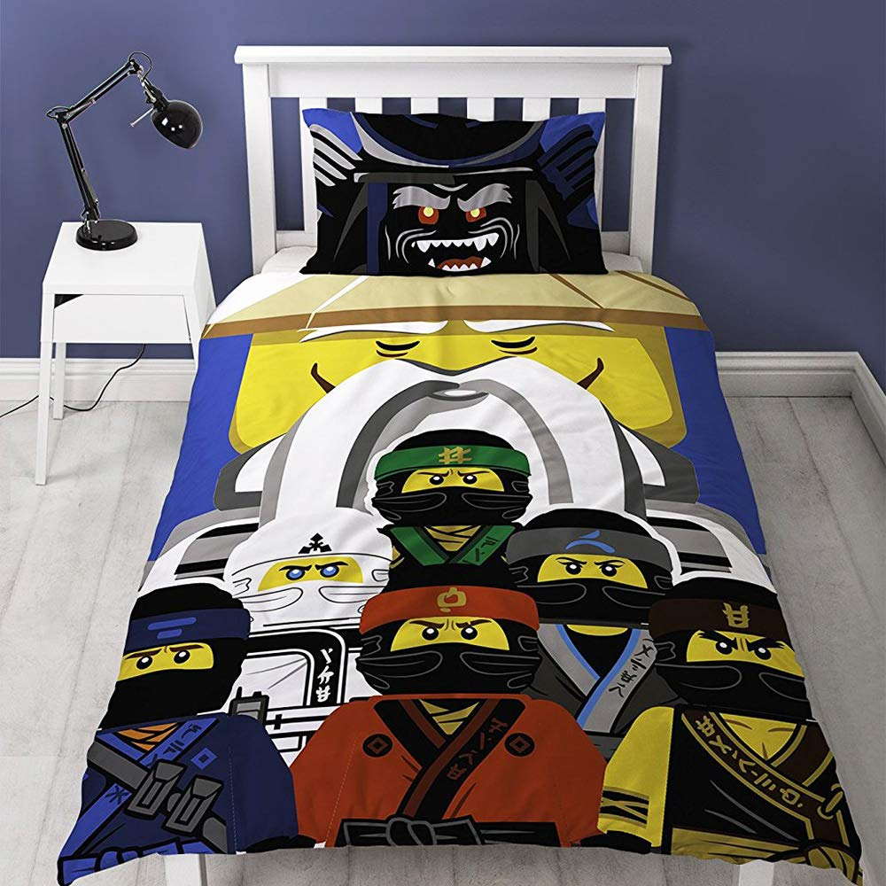 LEGO The Ninjago Movie 'Guru' Single Panel Duvet Cover Bed Set