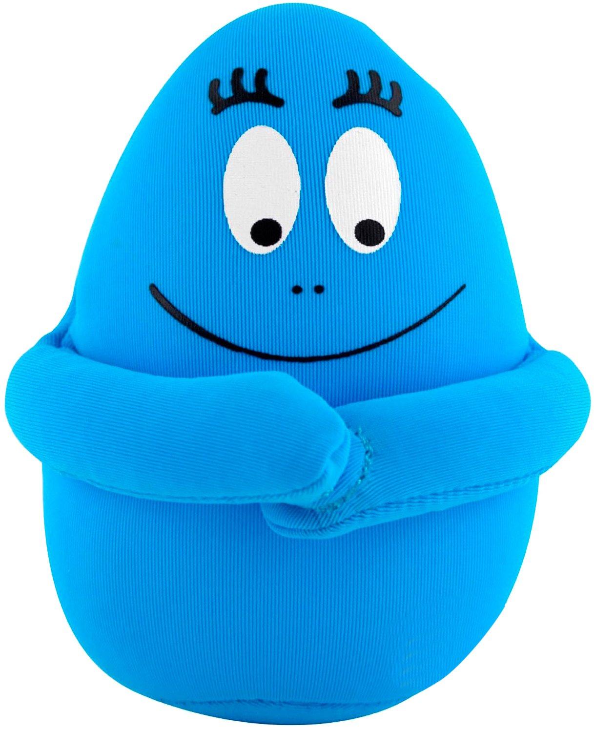 10 cm Bleu Leblon Delienne Coussin Barbapapa