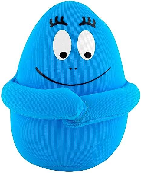 Barbapapa - Cojín de Barbapapa (10 cm) azul claro Talla:10cm ...