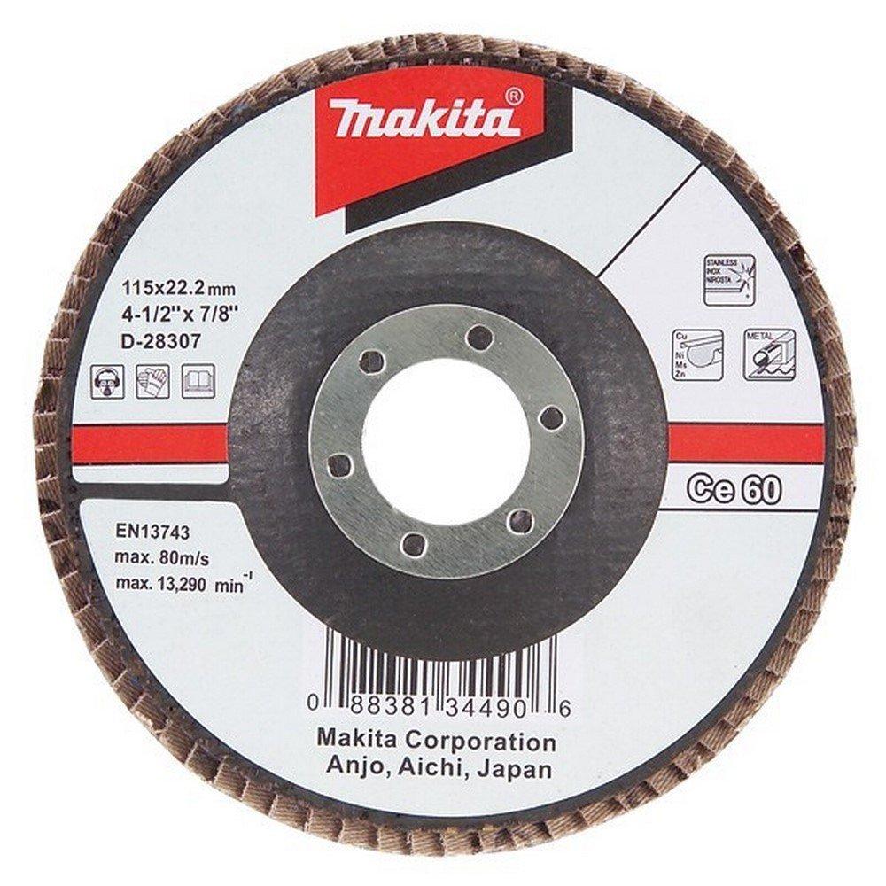 Makita D-28329 Makita Flap Disc 115Mm #120 Bevel - Multi-Colour