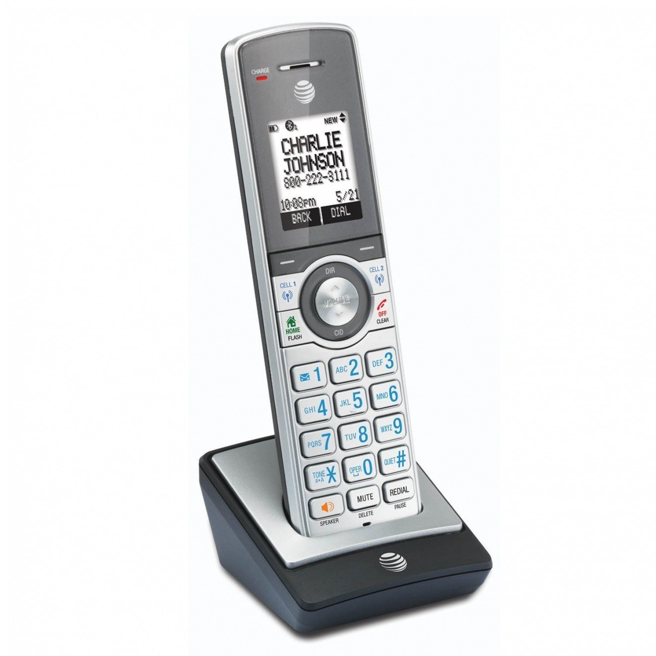 AT/&T CL84602 6-handset corded cordless telephone