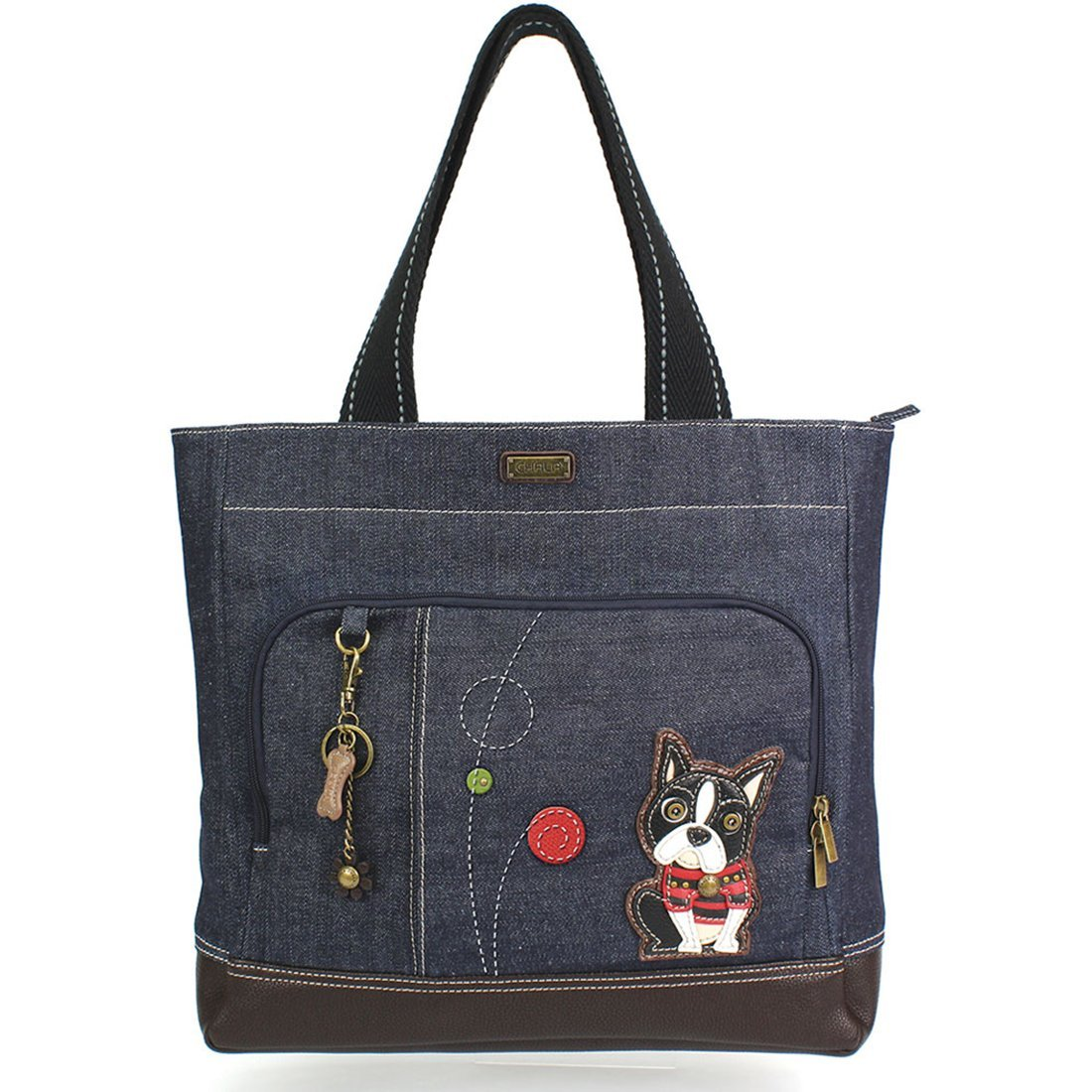 Chala Canvas Pocket Tote chl-PockTote-wedogbur