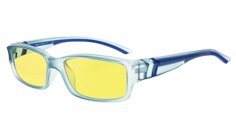 Eyekepper Vintage Computer Reading Glasses Readers-Anti-Reflective,Anti-Glare,Clear Lens,Uv Protection Men Women