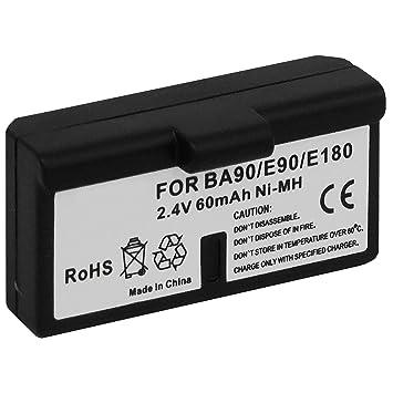 Batería BA-90 para auriculares inalámbricos Sennheiser Audioport A1, E90, E180 (Set