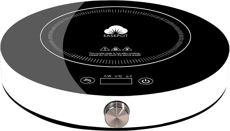 Easepot Portable Induction Cooktop, 1800W Hot Pot Countertop Burner 13