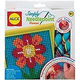 Alex Simply Needlepoint - Juego de bordado, diseño de flor