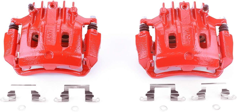 S4752 Powerstop 2-Wheel Set Brake Calipers Rear Driver /& Passenger Side LH RH