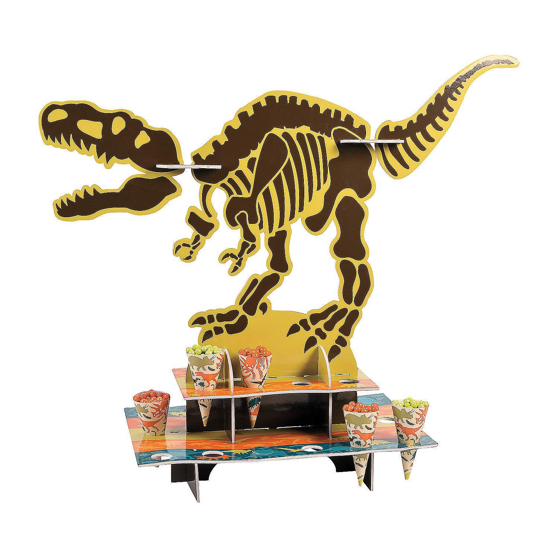 Serveware /& Barware Dino Dig Treat Stand W//cones for Birthday Party Supplies Fun Express Birthday Misc Serveware /& Barware 25 Pieces