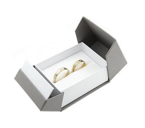Estuche para anillos de boda de alta calidad; para el ...