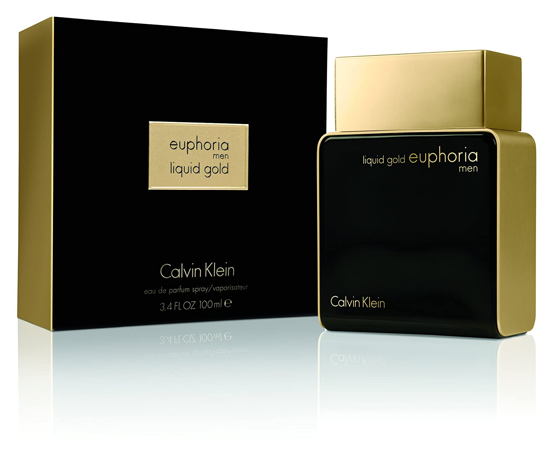 ee77f6f95 Liquid Gold Euphoria by Calvin Klein for Men - Eau de Parfum, 100 ml:  Amazon.ae