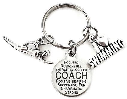 8bc72c5c Swim Coach Keychain, Coach Charm Keychain, Swimming Coach Keychain,  Swimming Keychain, Swim Keychain, Swimming Charm Keychain, Swimming Key  Ring, Swim ...