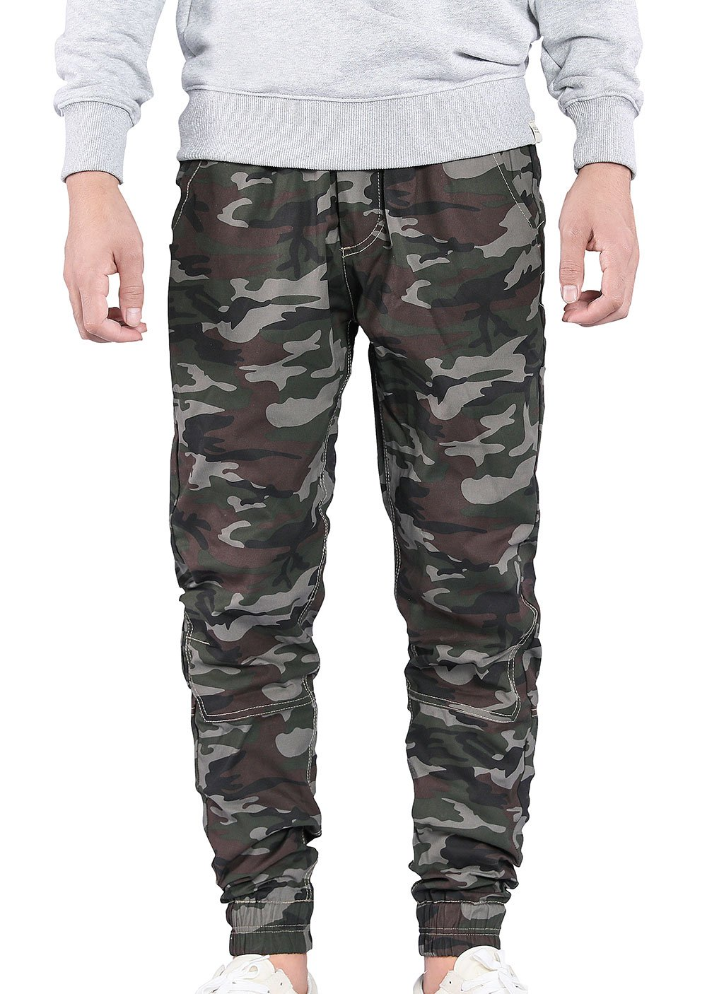 JINXUAN Men's Sports Joggers Pants Gym Workout Pant Running Trousers with Pockets